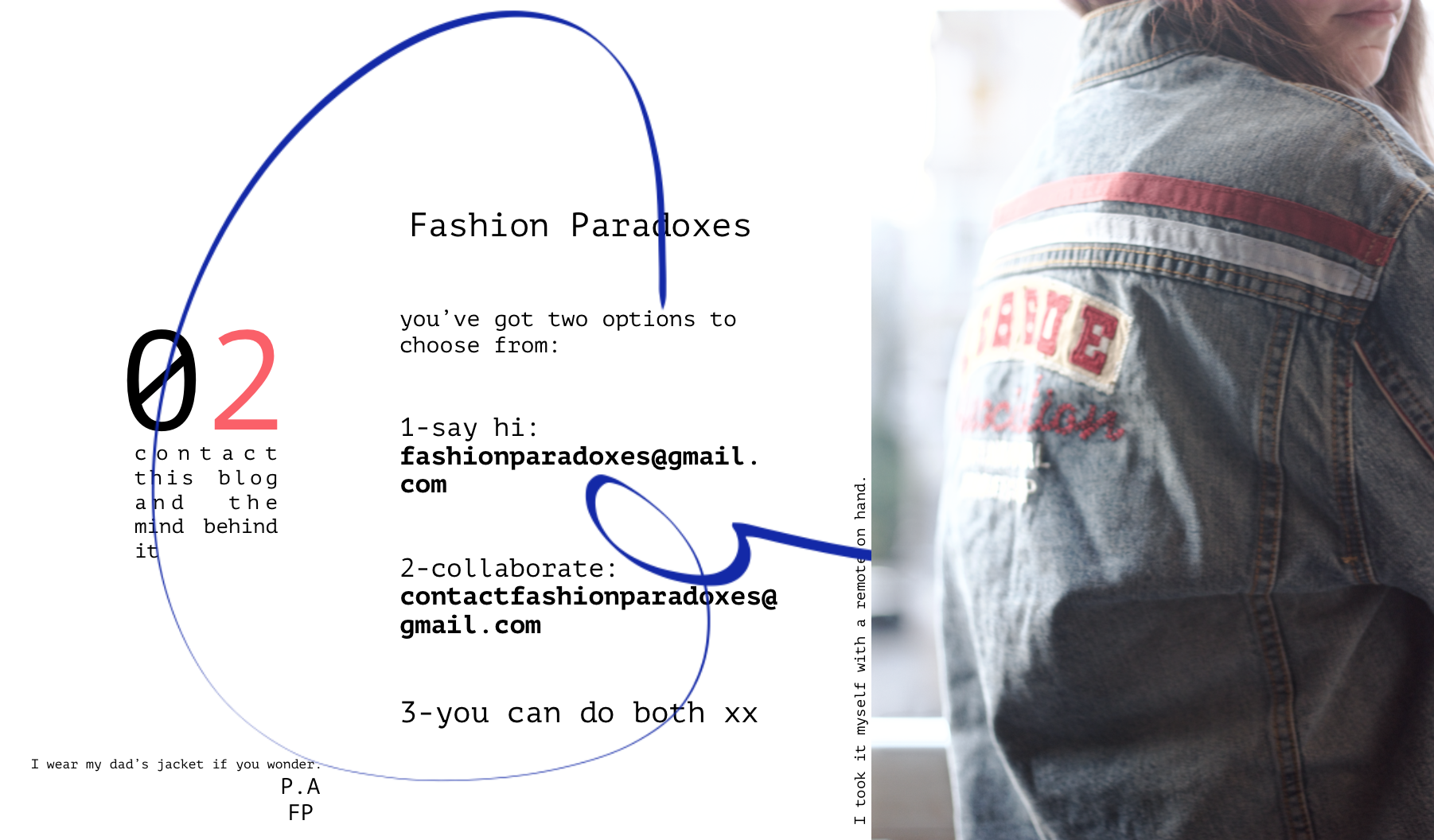 contact fashion paradoxes