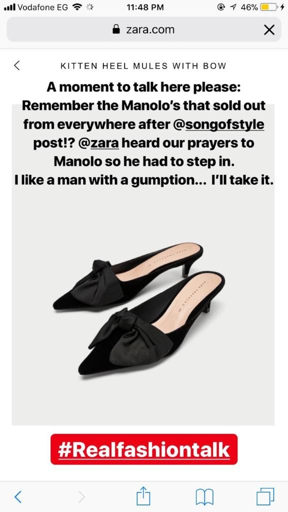 A Fun Instagram Stories Take on Zara Sales