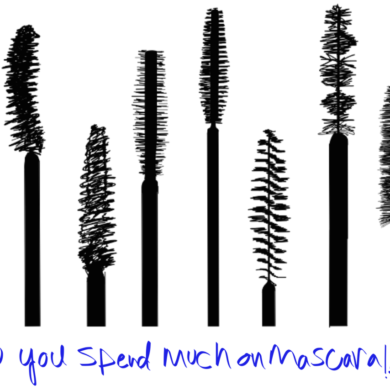 do you spend on mascara?