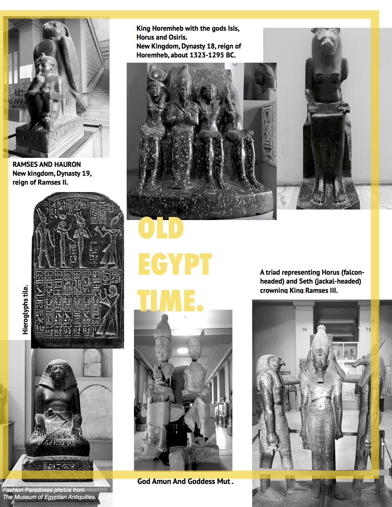 old egypt time fashion paradoxes photos