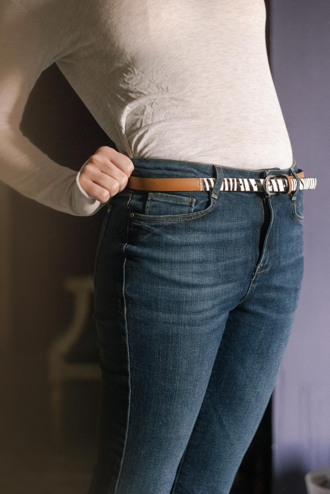 double G buckle Gucci belt