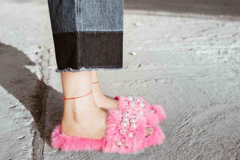 diy fur slides