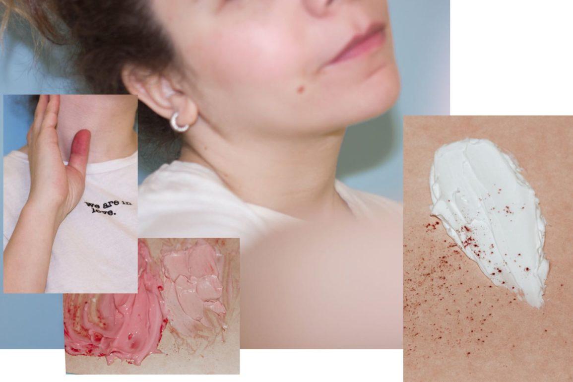 diy cream blush