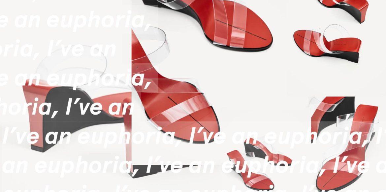 Backless Vinyl Sandals