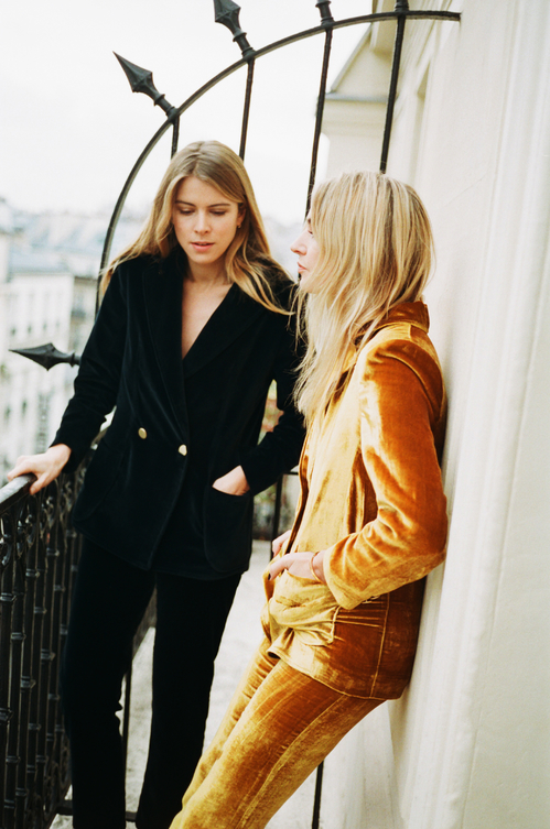 Camille Charrière and Monica Ainley Collaboration with Admise Paris