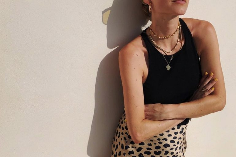 Realisation par leopard skirt