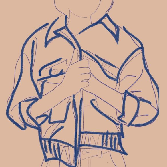 Buttons jacket