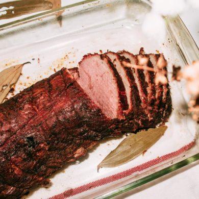 Off-Oven Roast Beef Tenderloin recipe