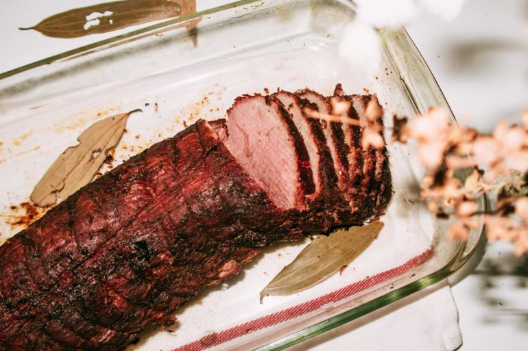 Off-Oven Roast Beef Tenderloin recipe