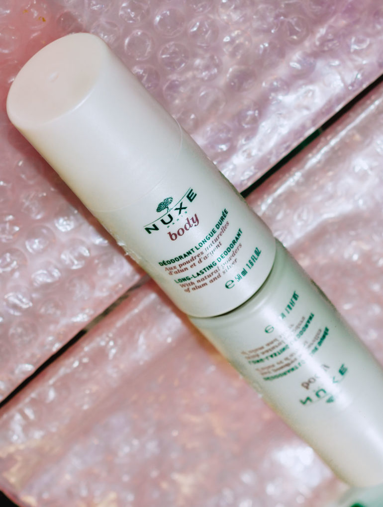 Nuxe Deodorant Review