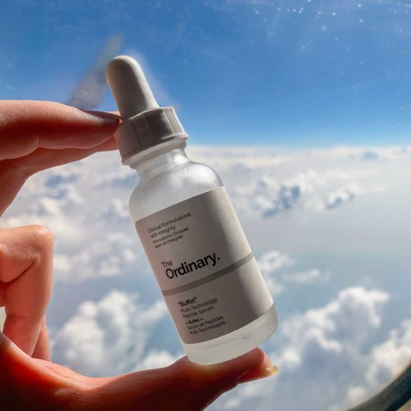 in flight skincare routine