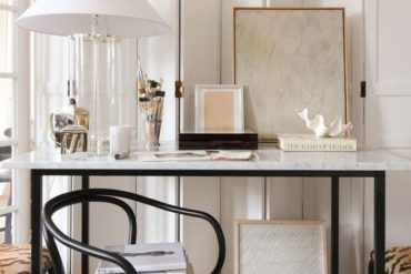 how to style a working from home office