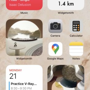 iOs 14 home screen layout ideas
